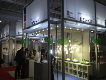 DEL-KO GmbH auf der Messe Interlight in Moscow 2013