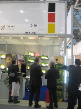 BIOLEDEX LED Lampen auf der Messe Interlight