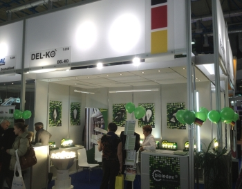LED FLuter ASTIR auf der Messe Interlight 2012
